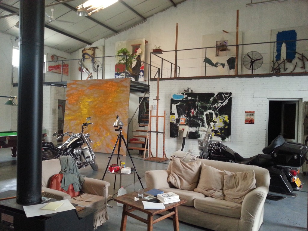 Zhang Wei's Studio